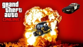 THE CHASE | Gta 5 Funny Moments - Killing Cops, Dump Truck, New Heist and More!