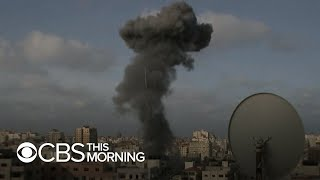 Israeli Strikes Gaza In Deadliest Single Attack Of Clashes Record Number Of Hamas Rocket Attacks