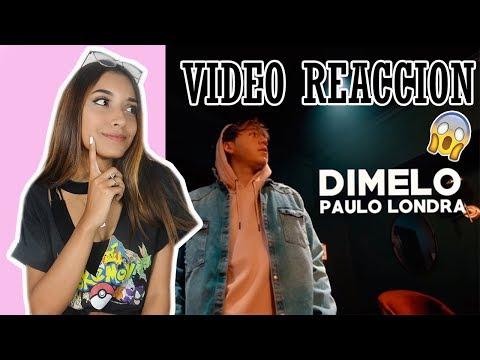 Reaccionando a DIMELO Paulo Londra/ Brenda Martinez