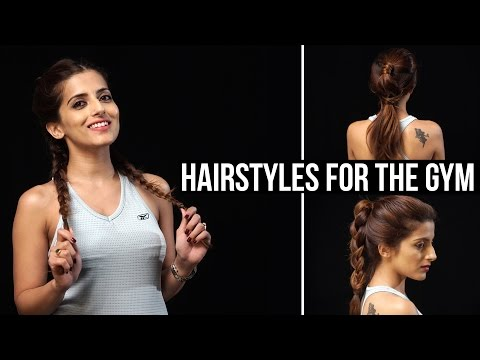 Cute & EASY Hairstyles For The Gym | Sporty/Athletic/Workout Hairstyles