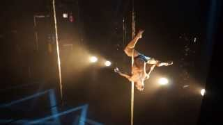 French pole Dance Competition Winner 2013 Guilherme Wandressen