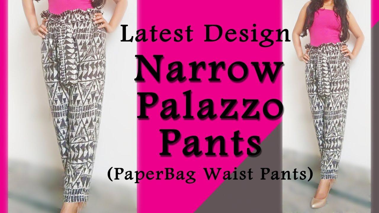 Latest Narrow Palazzo Pant Design Narrow Palazzo Pant
