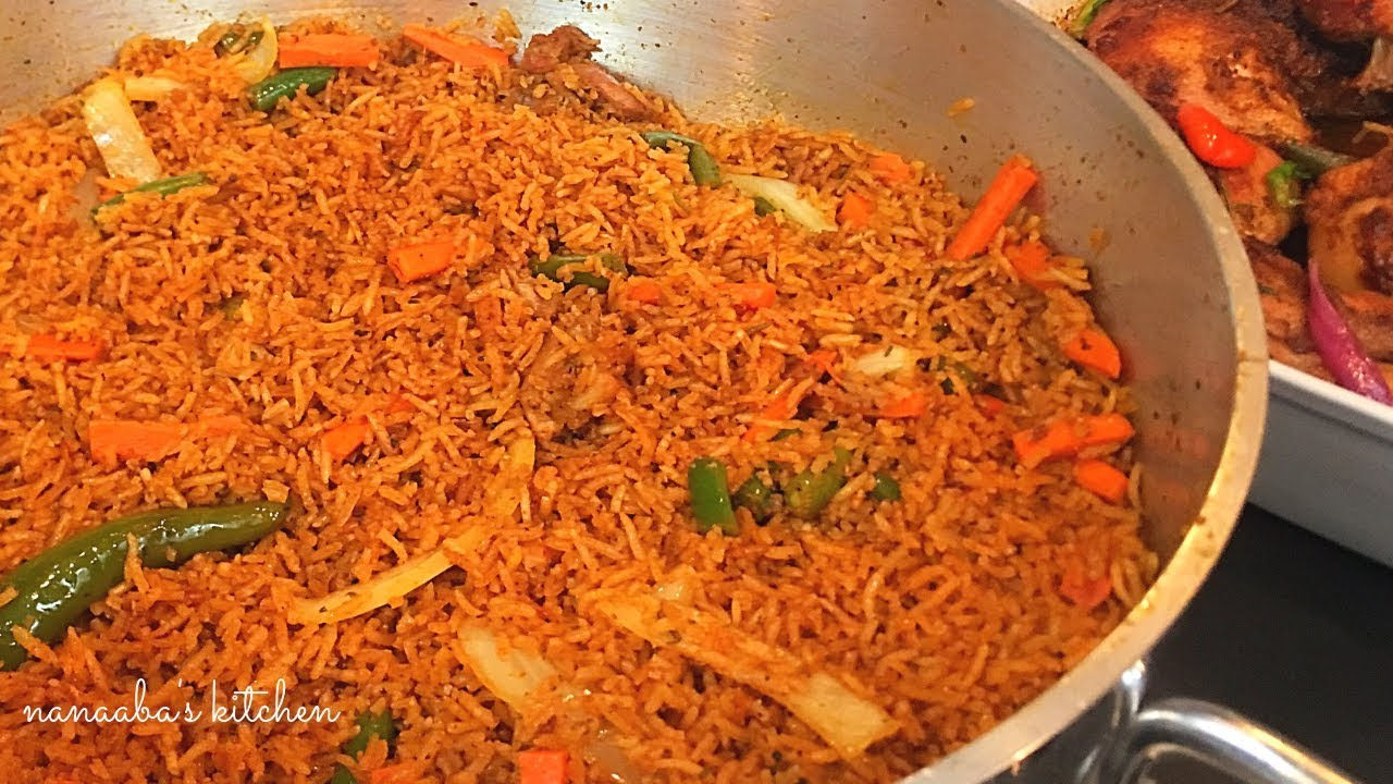 Image result for jollof rice at parties