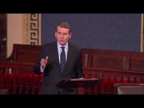 Sen. Michael Bennet on Scott Pruitt Nomination (Excerpts)