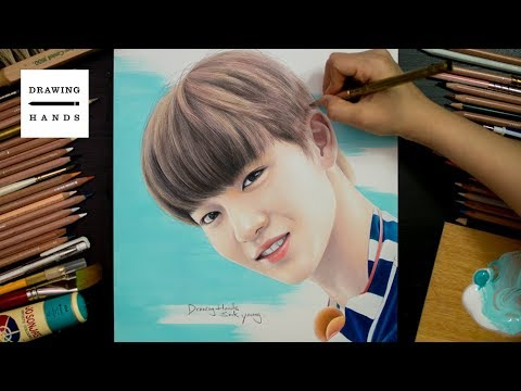 Speed Drawing Wanna One - Bae Jin Young [Drawing Hands]