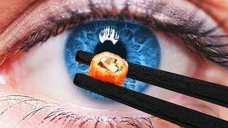 CrispyRob kocht das KLEINSTE SUSHI der WELT | MINI KÜCHE