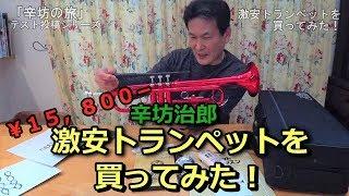 【¥15,800-】激安トランペットを買ってみた!〜「辛坊の旅」〜
