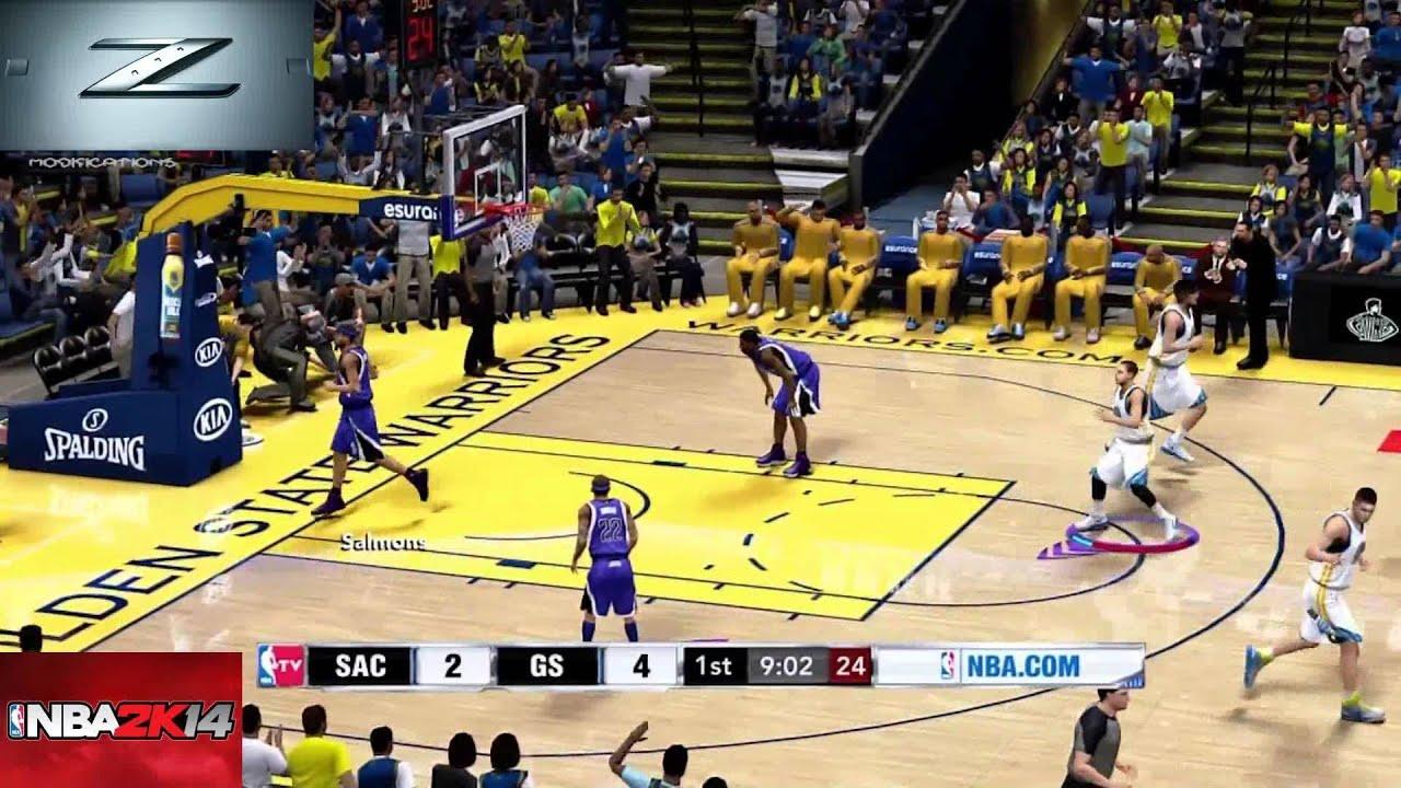 NBA2K14 Playstation 4 Gameplay [Full HD] - YouTube