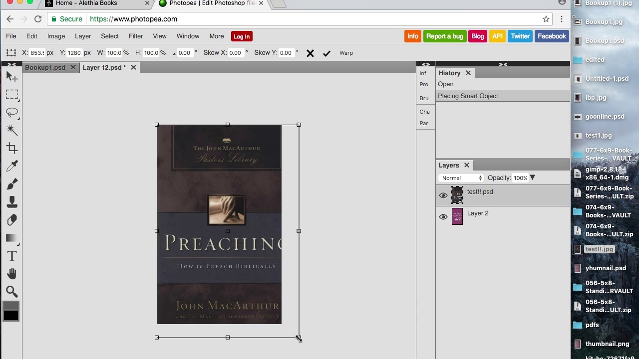 Download How To Edit Book Mockups Online Without Photoshop - YouTube Free Mockups