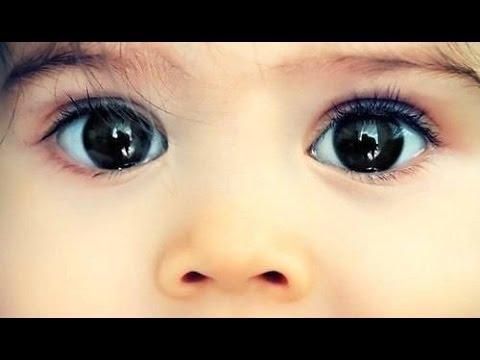 Как ребёнок видит первый год своей жизни!