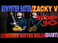 Avenged Sevenfold Synyster Gates And Zacky Vengeance TOP 5 Combined Guitar Duets mp3