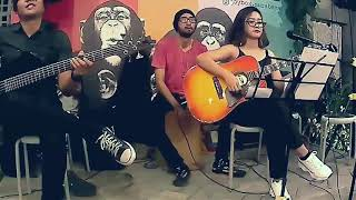 Oasis - Don't Look Back In Anger - Acoustic Live Cover By Monic Mutu Manikam