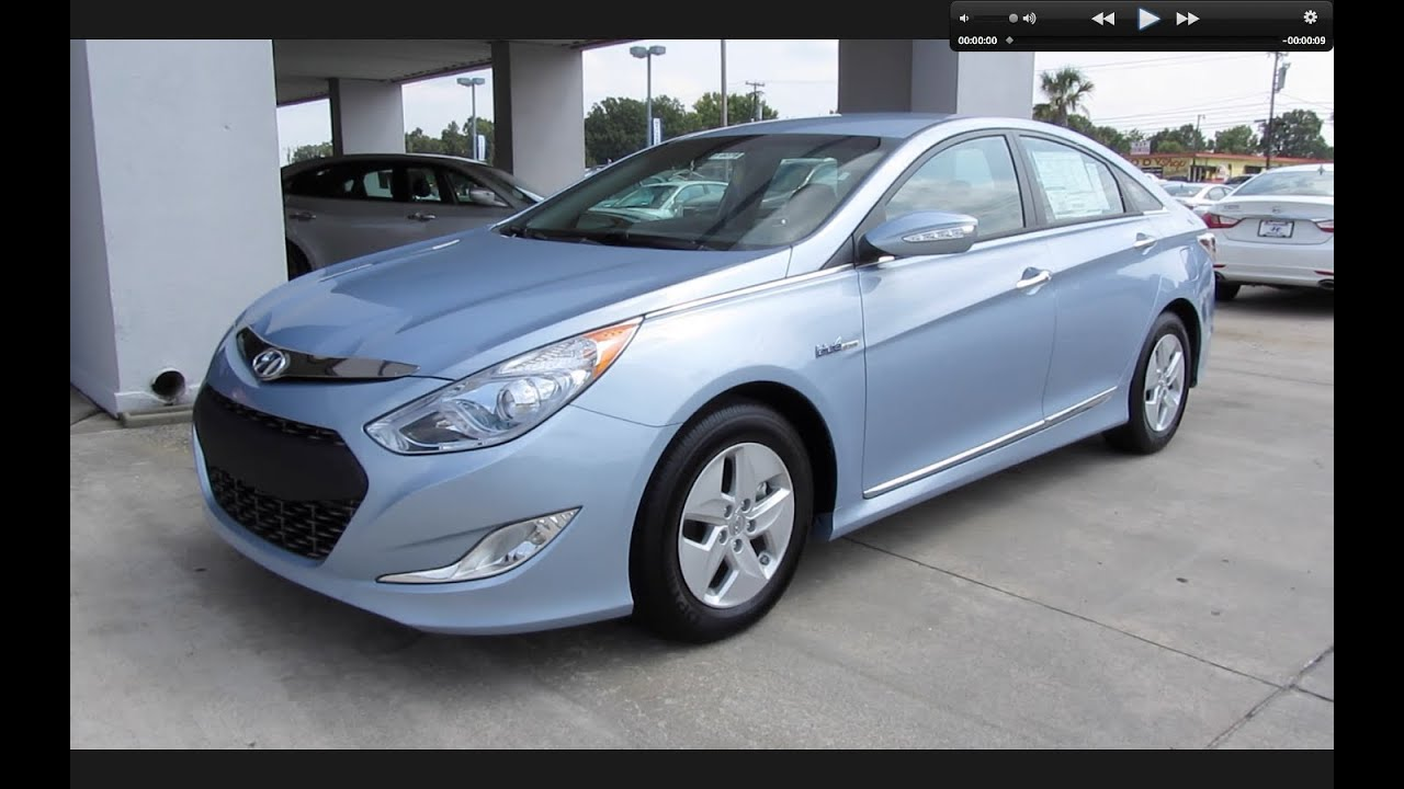 2011 Hyundai Sonata Hybrid Start Up Engine And In Depth Tour Youtube
