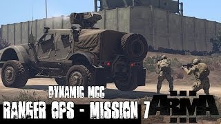 Dynamic MCC Ranger Ops Mission 7 - ArmA 3 Large Scale Co-op Gameplay