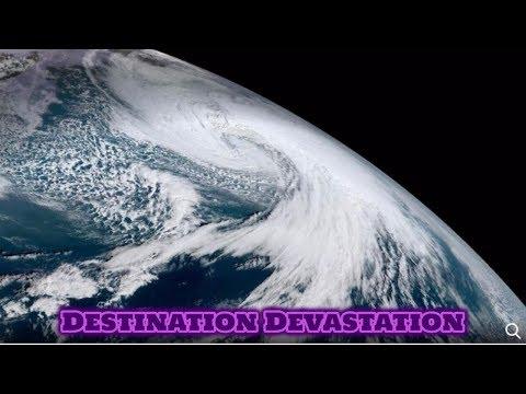 Stormageddon: Powerful Bering Sea storm raging toward the Aleutian Islands! Alaska.