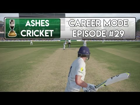 Finally OUT? - Ashes Cricket Career Mode #29