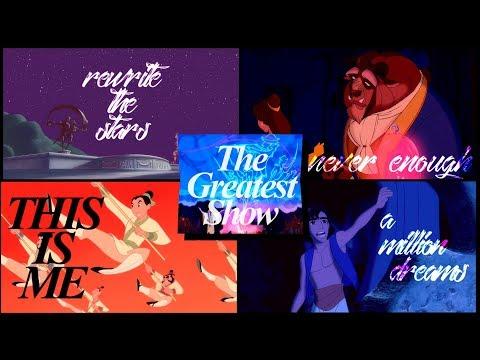 greatest showman medley [disney style]