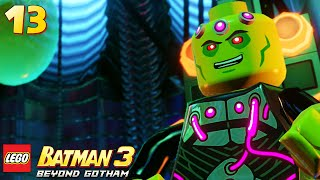 Lego Batman 3: Beyond Gotham - Walkthrough Part 13 - Brainiac Boss Fight
