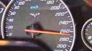 Тест скорости корвет 300км speed