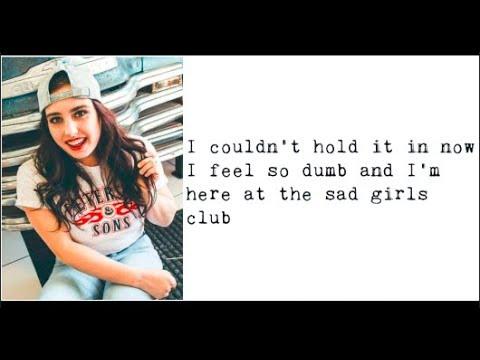 """Sad Girls Club"" - Cimorelli (Lyrics)"