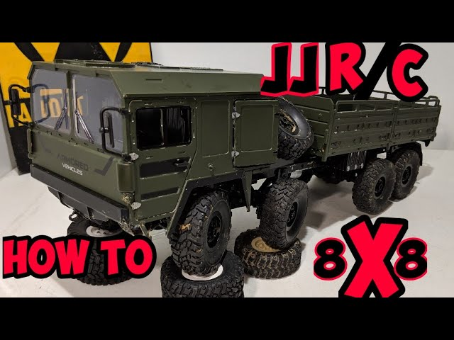(How to build 1/16 8x8) JJR/C __WPL