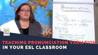 Teaching Pronunciation Skills in the ESL Classroom