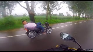 DELHI to JAMMU | LADAKH | Kawasaki Z800 | What he is doing ??
