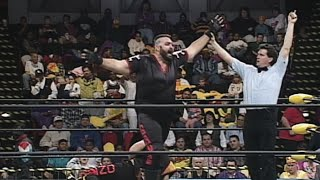 One Man Gang vs. Super Giant Ninja: WCW Saturday Night, Jan. 20, 1996