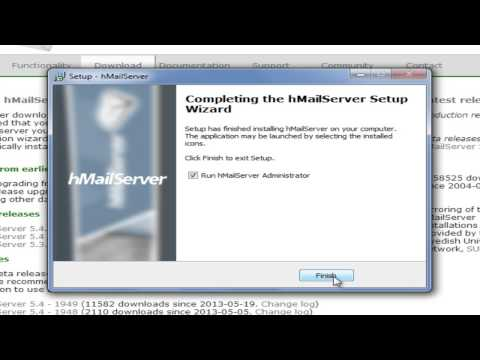 Hmail Server and no ip - YouTube