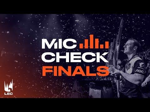 LEC Mic Check: Athens Finals Summer 2019