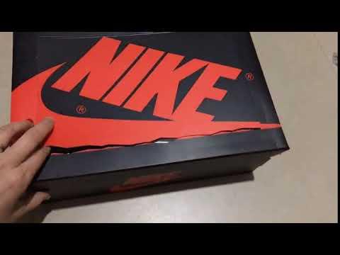 6c2573e9dd3c Original Box 2018 Off-White Air Jordan 1 AQ0818-100 - YouTube