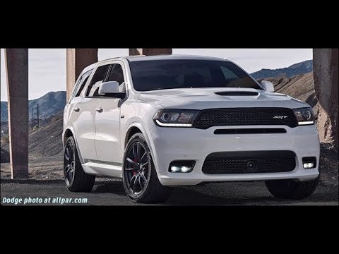 2019 Dodge Durango Srt 2019 White Washington Dc Auto 2018 Youtube