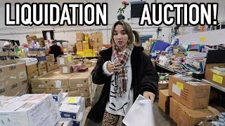 Our First WHOLESALE LIQUIDATION AUCTION - Bought MASSIVE Make Up Lot!