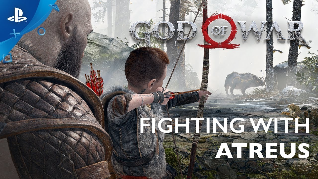 God of War Getting Closer to Atreus