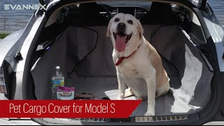 Pet Cargo Cover for Tesla Model S