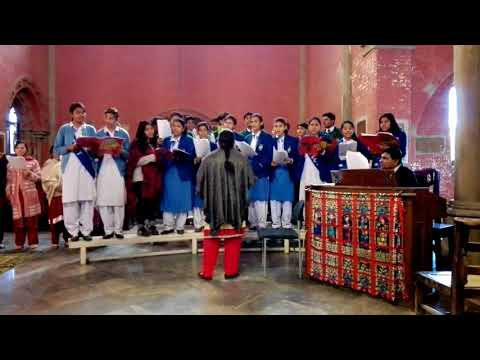 The Angle Gabriel   Christmas Carol by Cathedral School Choir, Hall Road, Lahore