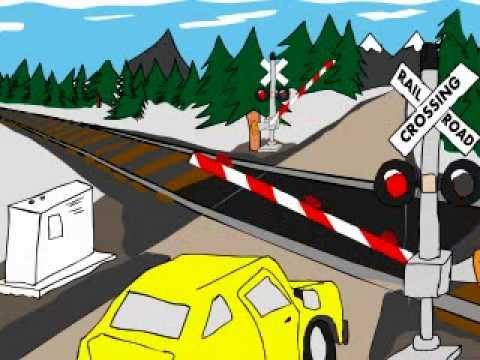 Railroad CSX Westbound (Animation)