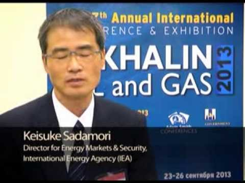Interview with Keisuke Sadamori, International Energy Agency (IEA) at Sakhalin Oil & Gas 2013