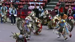 Lakota Tribe -  Men's Traditional - Saturday Eve - Black Hills Pow Wow 2017