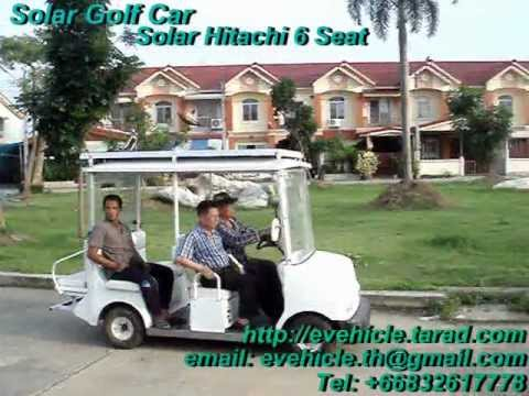 SOLAR GOLF CAR HITACHI 6 SEAT