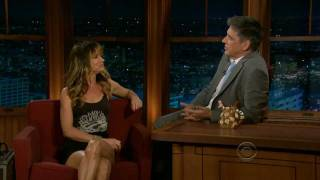 Juliette Lewis on the Late Late Show with Craig Ferguson