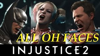 INJUSTICE 2 - ALL OH FACES