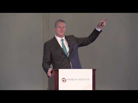 Gov. Charlie Baker Addresses the 2017 Better Government Competition