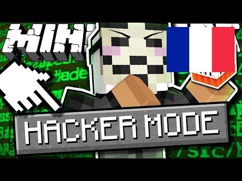 Et si il y avait un HACKER MODE sur Minecraft ? - ExplodingTNTFR