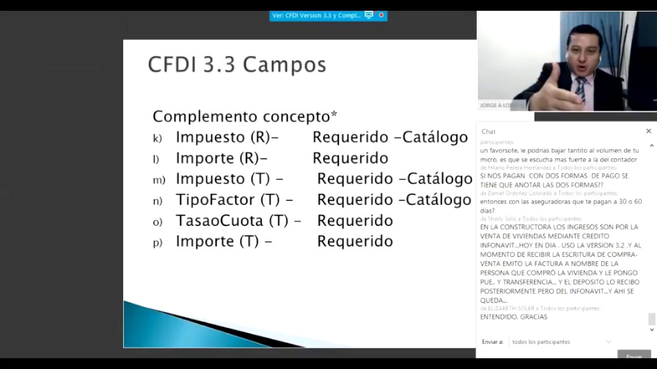 Complemento Cfdi 3 3 4 - YouTube