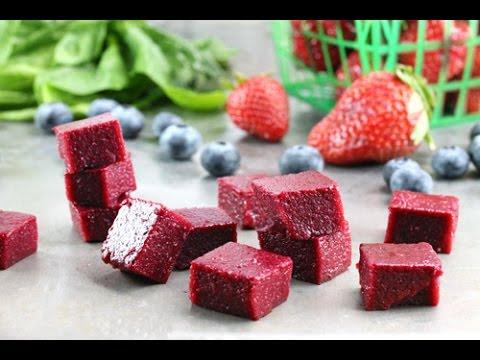 Homemade Fruit and Vegetable Snacks