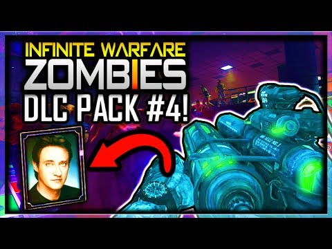 Infinite Warfare ZOMBIES DLC 4 WONDER WEAPON LEAKED & CELEBRITY CHARACTER INFO! (IW ZOMBIES DLC 4)