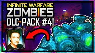 Infinite Warfare ZOMBIES DLC 4 WONDER WEAPON LEAKED & CELEBRITY CHARACTER INFO (IW ZOMBIES DLC 4)
