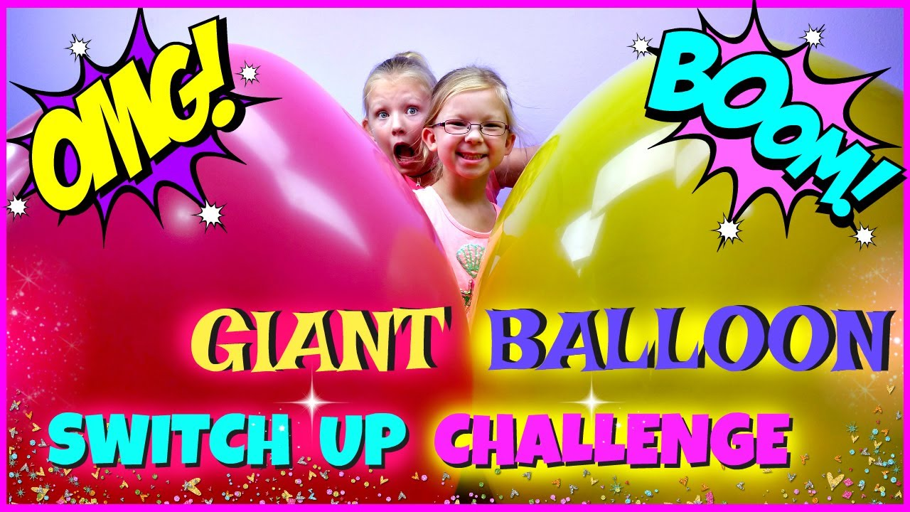 Giant balloon switch up challenge magic box toys collector youtube giant balloon switch up challenge magic box toys collector ccuart Choice Image
