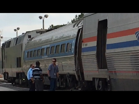Taking Amtrak Train 98 the Silver Meteor from West Palm Beach to New York City.